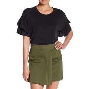 Nordstrom Tops - NWT Nordstrom Tiered Ruffle Sleeve Tee Top Blouse